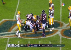 Leonard Floyd completely overwhelms David Bakhtiari for sack