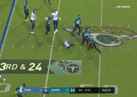 Every Jacksonville sack on 'TNF' | Week 3