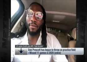 Jaylon Smith on Dak Prescott: 'He's got a lot to prove' in 2021
