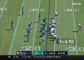 A.J. Brown runs into brick wall at 1-yard line to deny TD access