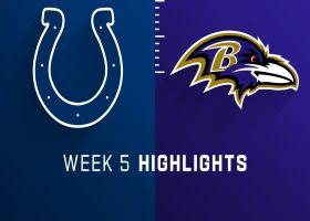 Colts vs. Ravens highlights | Week 5