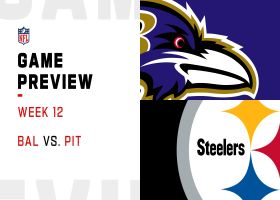 Ravens vs. Steelers preview | Week 12