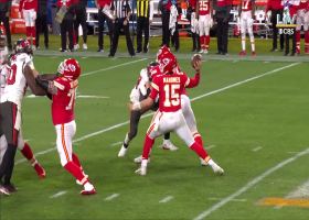 Buccaneers engulf Patrick Mahomes for 8-yard loss on the sack