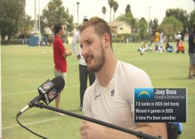 Joey Bosa reveals current Charger who already looks like a 'Hall of Famer'