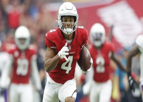Rondale Moore's juke clinic nets Cardinals 18 yards before half