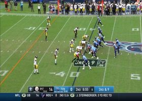 Double-ricochet catch! Titans' pass play is straight-up magical