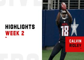 Every catch from Calvin Ridley's 2-TD game | Week 2