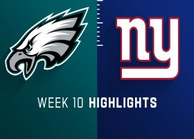 Eagles vs. Giants highlights | Week 10