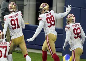 Can't-Miss Play: Javon Kinlaw's first NFL TD is 27-yard pick-six