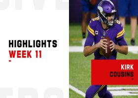 Kirk Cousins' best throws from 314-yard game | Week 11