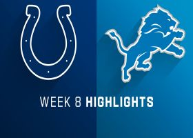 Colts vs. Lions highlights | Week 8