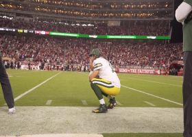 Field view: Rodgers' amazing reaction to Crosby's game-winning FG in Week 3