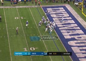 Colts' OL paves the way for Marlon Mack's TD run