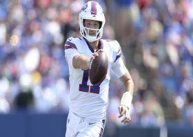 Josh Allen zips second TD of first half to extend Bills' lead