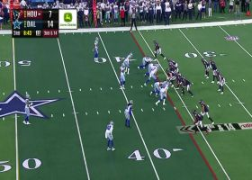 Dallas' D brings the heat with big third-down sack
