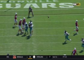 A.J. Green finds soft spot in Jags defense for open 34-yard grab
