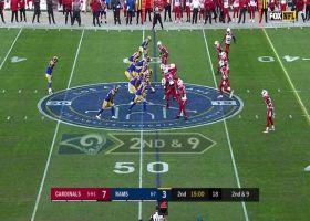 Tyler Higbee takes TE screen for a shifty 14-yard catch and run