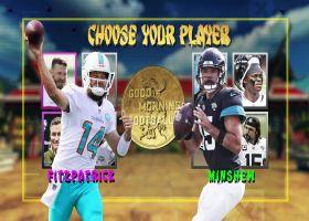 Fitzpatrick vs. Minshew: Which QB will have the bigger night?