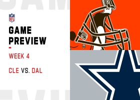 Browns vs. Cowboys preview | Week 4