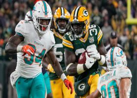 Raven Greene successfully mimics Dolphins' fake punt