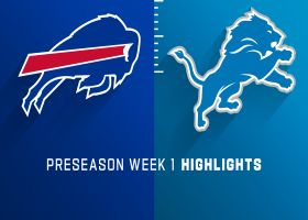 Bills vs. Lions highlights | Preseason Week 1