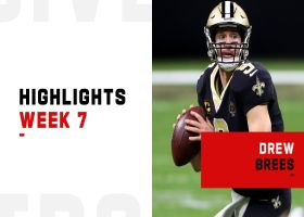 Drew Brees' best passes from 287-yard game | Week 7
