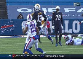 Keenan Allen SOMEHOW hauls in insane contested grab over the middle