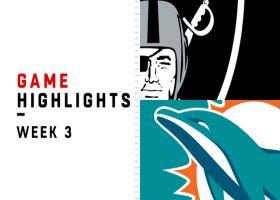 Raiders vs. Dolphins highlights | Week 3
