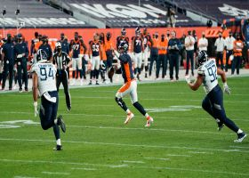 Lock'd in! QB directs traffic for TD strike to Fant at the goal line
