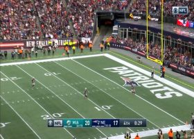 Brandon Bolden breaks through defenders for 38-yard kick return