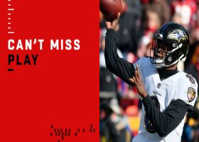 Can't-Miss Play: Lamar throws critical fourth-down TD pass to Maxx Williams
