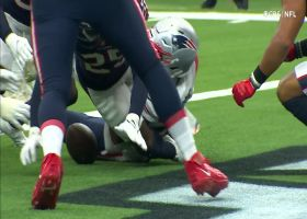 Terrance Mitchell's Peanut Punch forces fumble inside 1-yard line