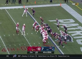 Patriots STONEWALL Drake for fourth-down stop at 1-yard line