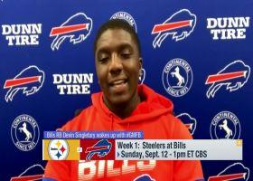 Devin Singletary shares message to Bills Mafia ahead of Week 1