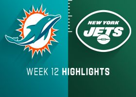 Dolphins vs. Jets highlights | Week 12