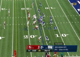 Golden Tate drops to knees for impressive 18-yard grab