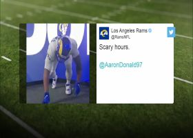 First look: Aaron Donald wearing Rams' new 'Bone' uniform
