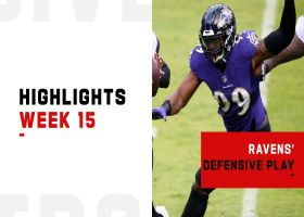 Ravens' best defensive plays from strong win | Week 15