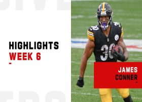 James Conner's best runs from 101-yard game | Week 6