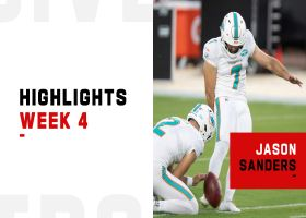 Every Jason Sanders FG from 15-point game | Week 4