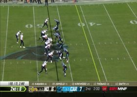 Watch James Bradberry read Brees for an INT in 360 degrees | True View