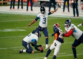 Stephen Gostkowski misses first FG attempt with Titans