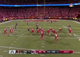See Mahomes' TD to Harris in 360 degrees | True View