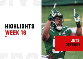 Jets' best defensive plays in win over Browns | Week 16