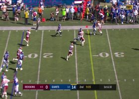 Sterling Shepard speeds off the edge on fly sweep for 23 yards