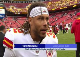 Tyrann Mathieu proud of teammates for putting together good second-half performance vs. WFT