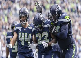 Chris Carson caps Seahawks' 48-second drive with TD just before half