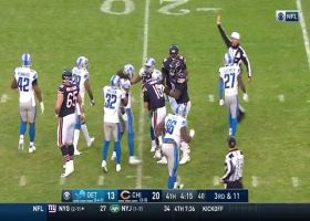 Bears D comes up with CLUTCH fourth-down stop