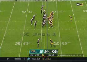 Jaguars STUFF Packers rush on key third down stop