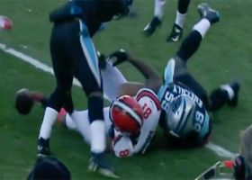 Panthers pounce on Kuechly's forced fumble